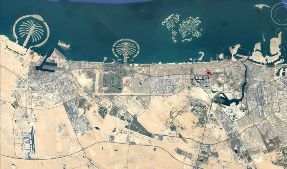 City areas it is all about dubai dubai is mostly built along the coast and with a lot of projects expanding into the sea such as palm jumeirah the world islands and deira islands gumiabroncs Images